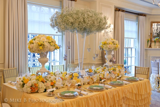 United With Love: Color Inspiration – Yellow Garden Tea Party