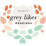 Grey Likes Weddings Badge