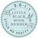 Style Me Pretty Little Black Book 2011Logo