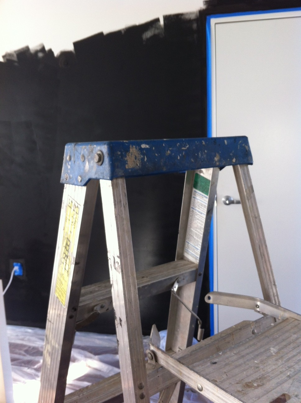 Progress: Chalkboard Wall