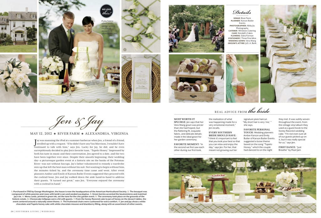 featured in southern living weddings 2013 karson butler