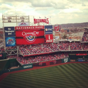 Opening Day – Go Nats!
