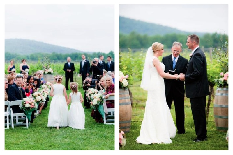 Charlottesville Wedding Keswick Winery Ceremony
