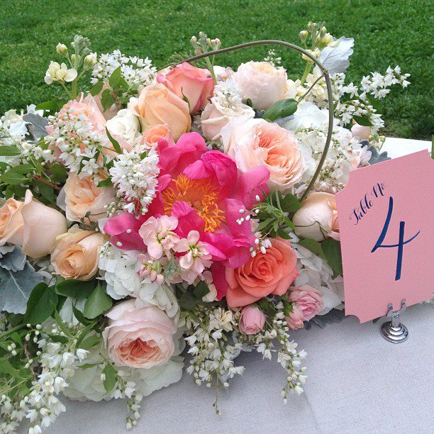Flowers by Holly Chapple for Karson Butler Events