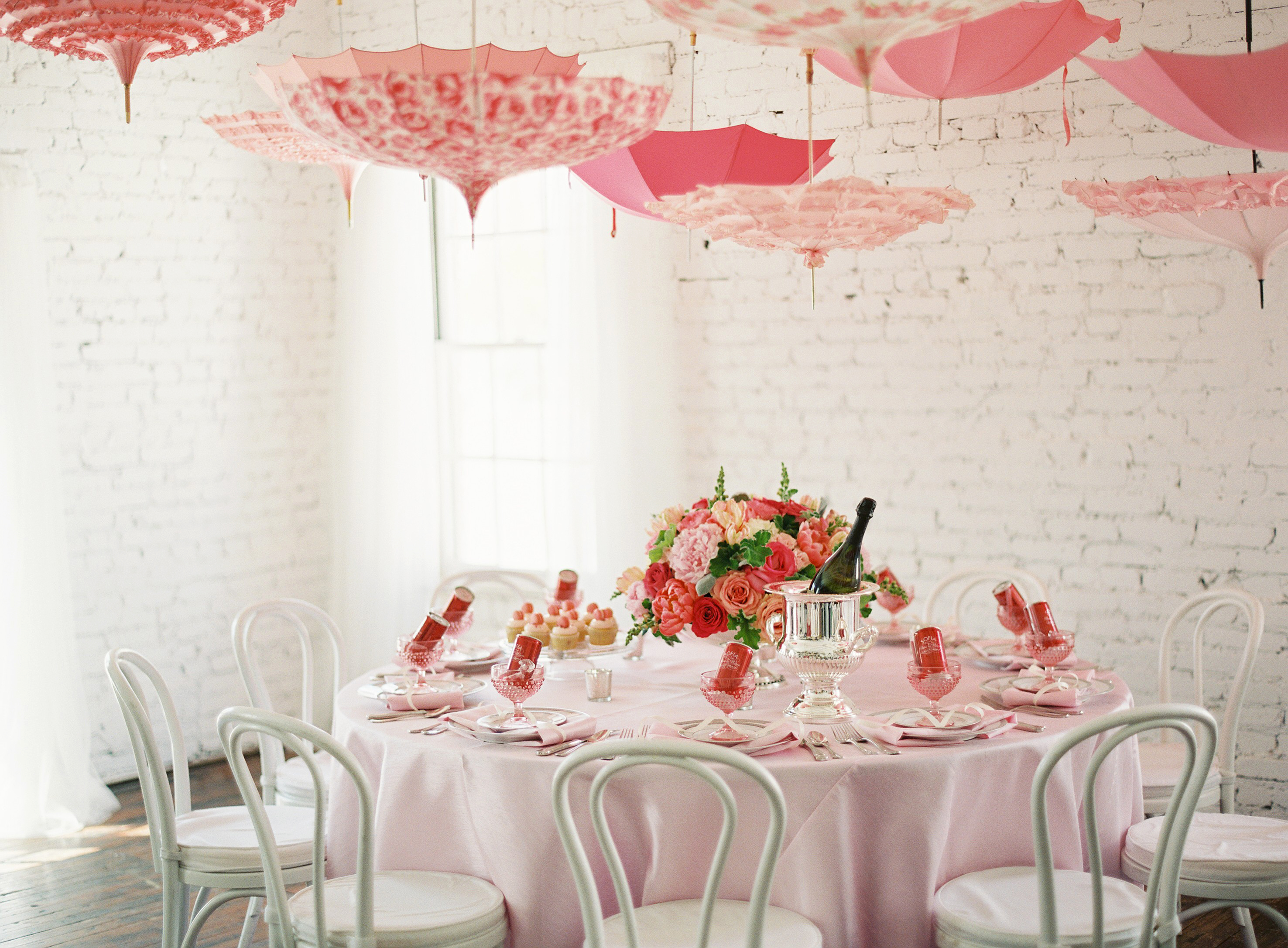 Pink Baby Shower Featured on Style Me Pretty Living