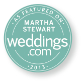 Martha Stewart Weddings: Lauren + Christopher
