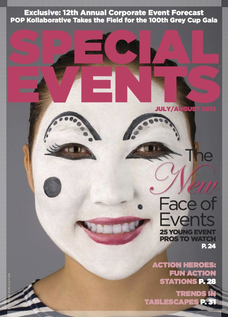 Special Events Magazine July-August Cover 25 Young Event Pros