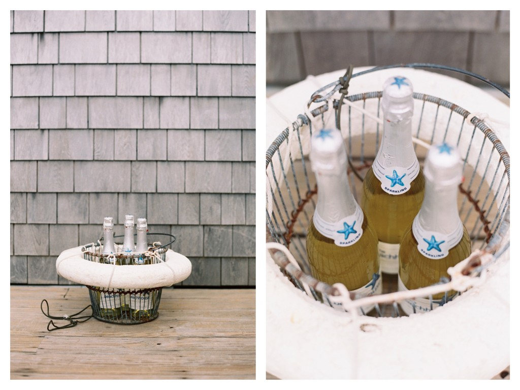 Matt & Josh Cape Cod Wedding Proposal Karson Butler Events Floating Basket
