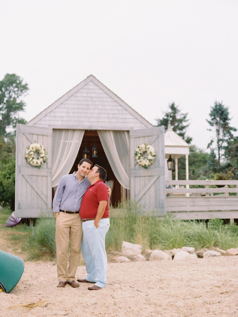 Matt & Josh Cape Cod Wedding Proposal Karson Butler Events_04