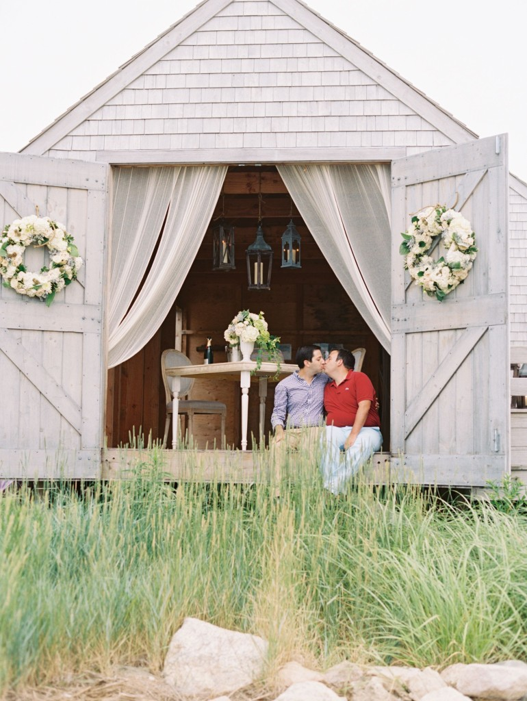 Matt & Josh Cape Cod Wedding Proposal Karson Butler Events_07