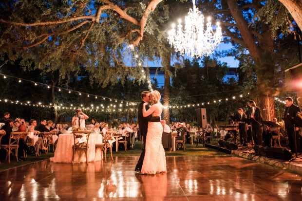Inspired by This: Romantic Backyard California Wedding