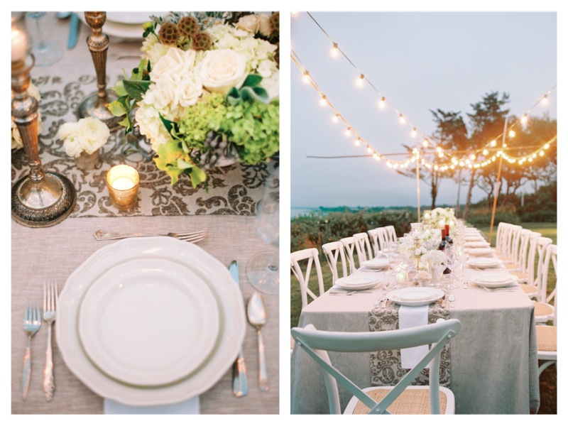 Cape Cod Wedding Proposal Dinner Party 1