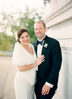 Washingtonian: Andrea & Dan's DC Wedding at DAR