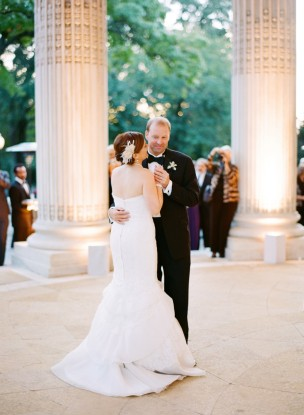 Featured on Washingtonian: A+D's DC Wedding at DAR