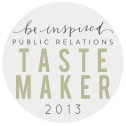 Be Inspired PR Tastemaker Logo