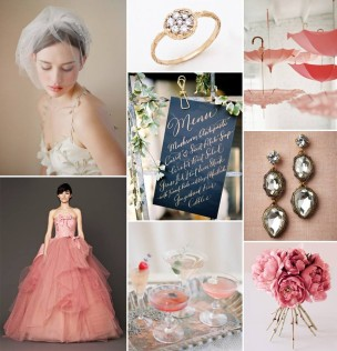 Pink As Romantic – Jen Campbell's Inspiration Board for Vera Wang Unveiled