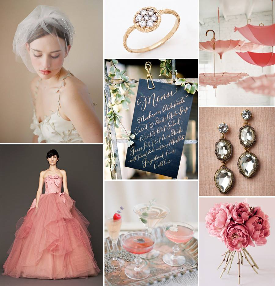 Vera Wang Jen Campbell Inspiration Board