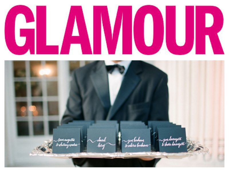 Featured on Glamour: Timeless Wedding Ideas Inspired by Alexis Bledel