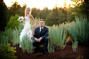 Featured on Style Me Pretty: Jessica & Bryan's Rustic Oregon Wedding