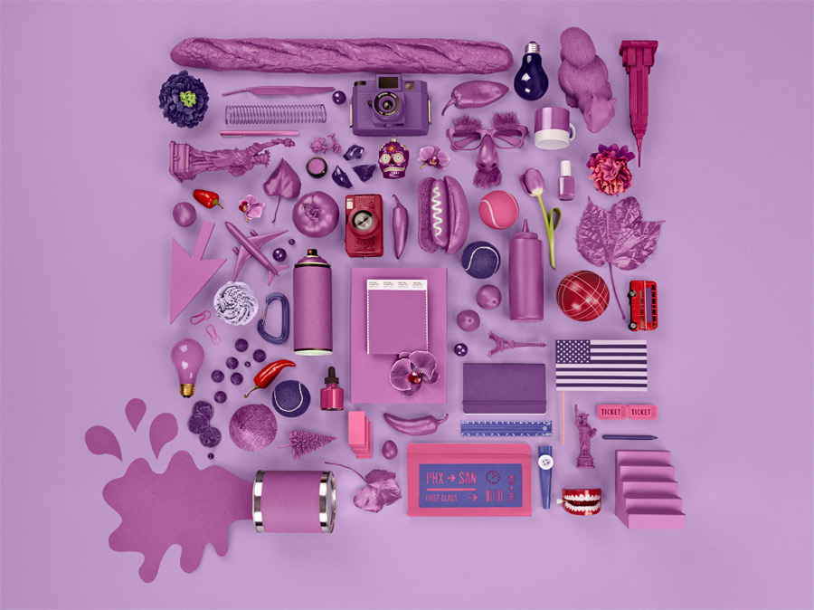 Pantone Color of the Year Radiant Orchid 1
