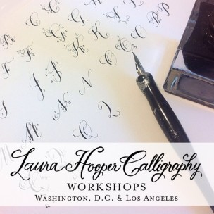 Laura Hooper Calligraphy Workshops
