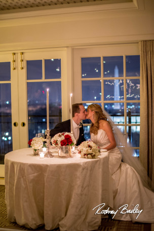 Featured on District Weddings: Winter Hay Adams DC Wedding