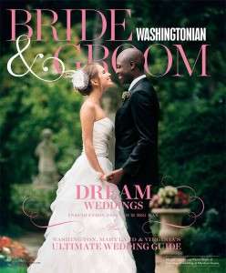 Washington Bride & Groom Winter 2014 Cover
