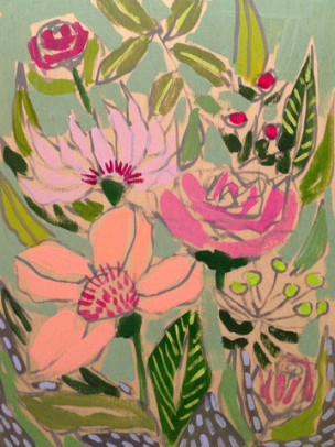 Spring Inspiration from Artist Lulie Wallace