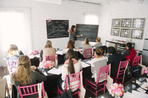 Featured on SMP Living: Laura Hooper Calligraphy Workshop