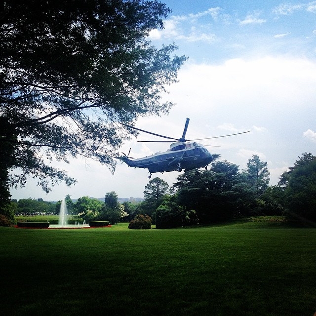 Marine One White House