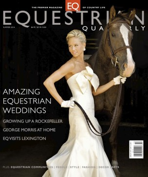 Featured in Equestrian Quarterly Magazine