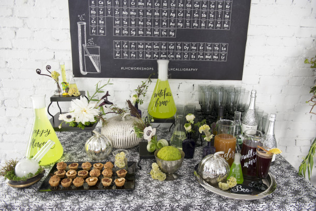 Glitter Guide: Spooky Halloween Calligraphy Class