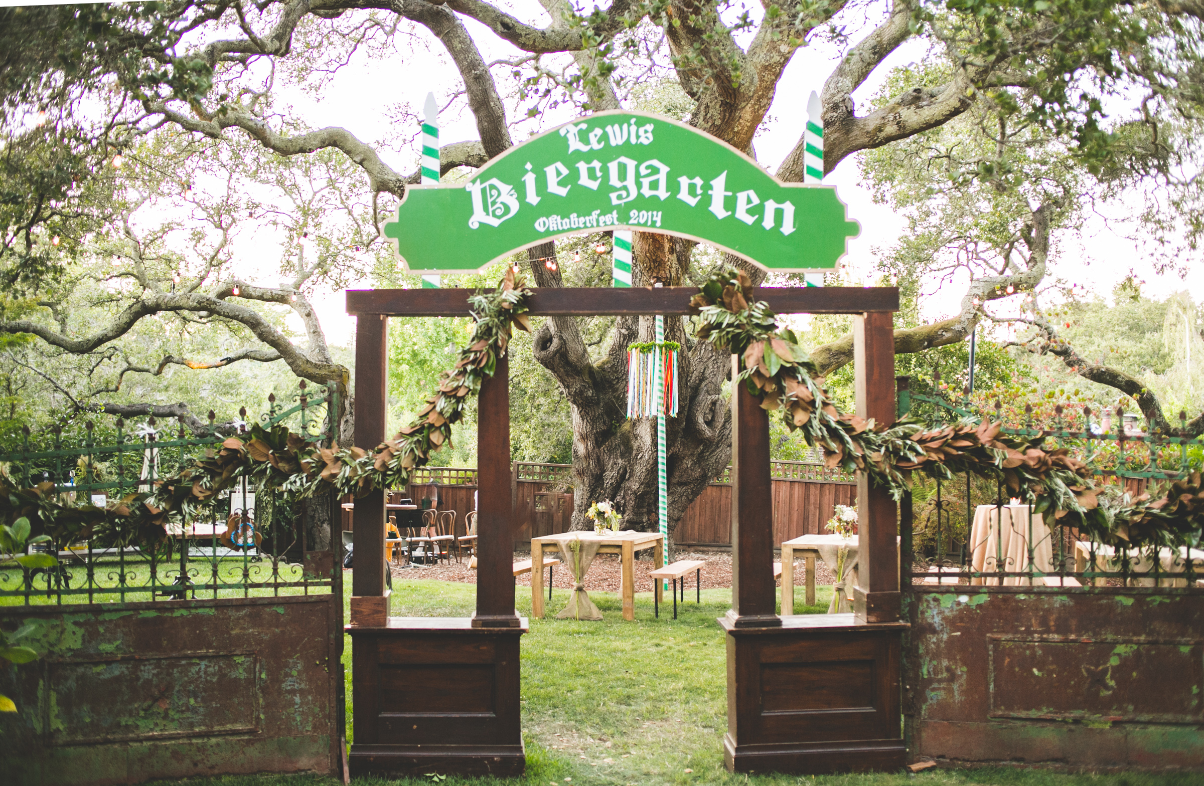 inspired by this oktoberfest backyard ca party karson butler