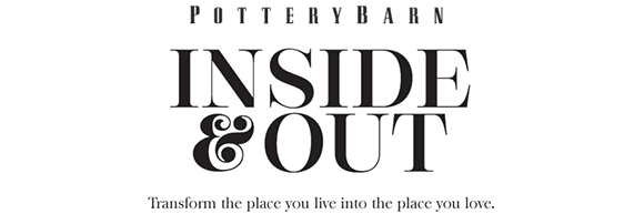 Pottery Barn Blog Logo Inside & Out