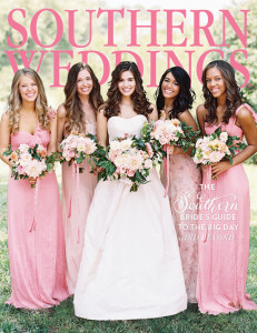 SWV7 Cover 2014 Southern Weddings Magazine
