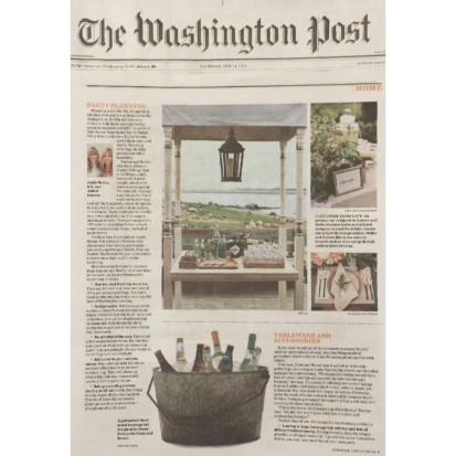 The Washington Post: Up Your Outdoor Entertaining Game