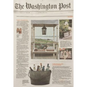 Featured In: The Washington Post – Outdoor Entertaining Tips