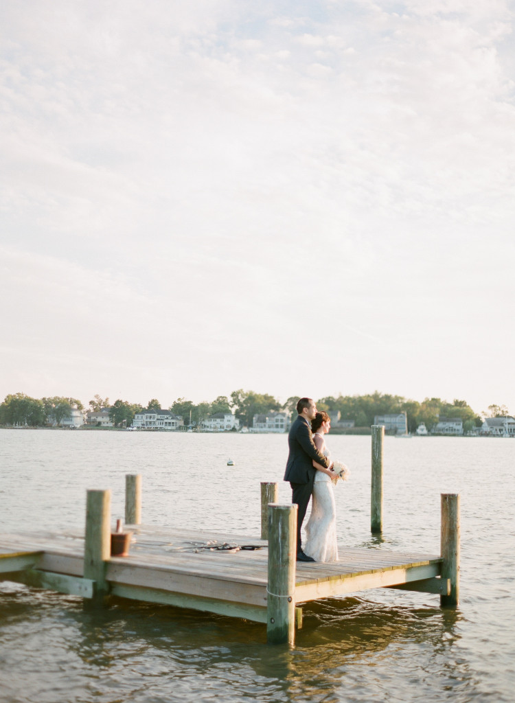 Annapolis Wedding Karson Butler Events KT Merry - Dock