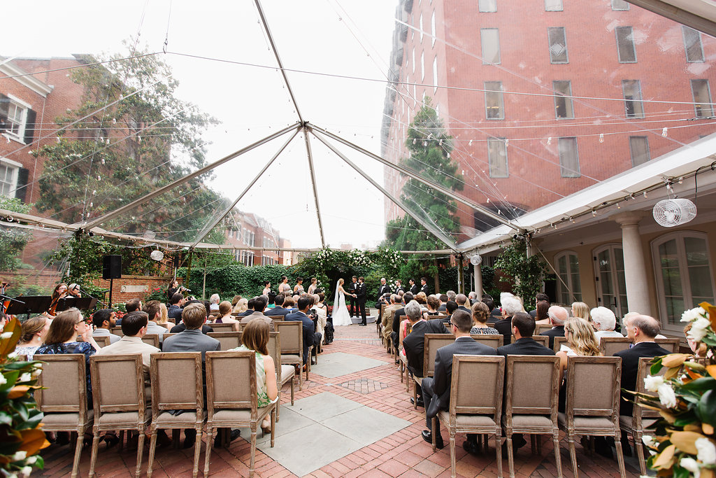 Decatur house washington dc wedding