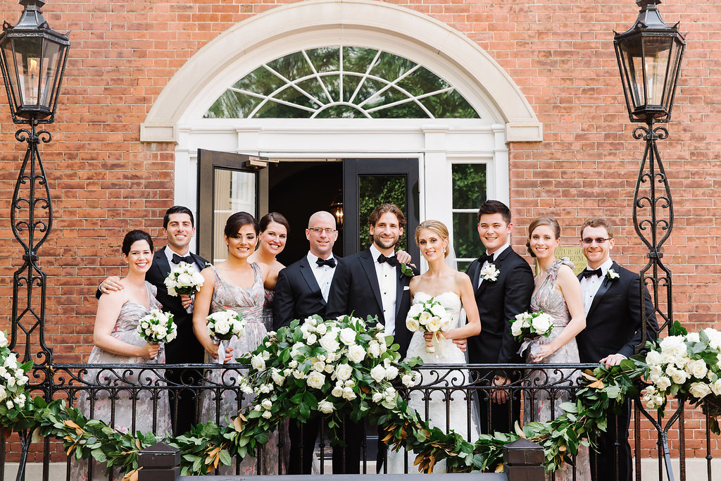 Decatur House Wedding Party