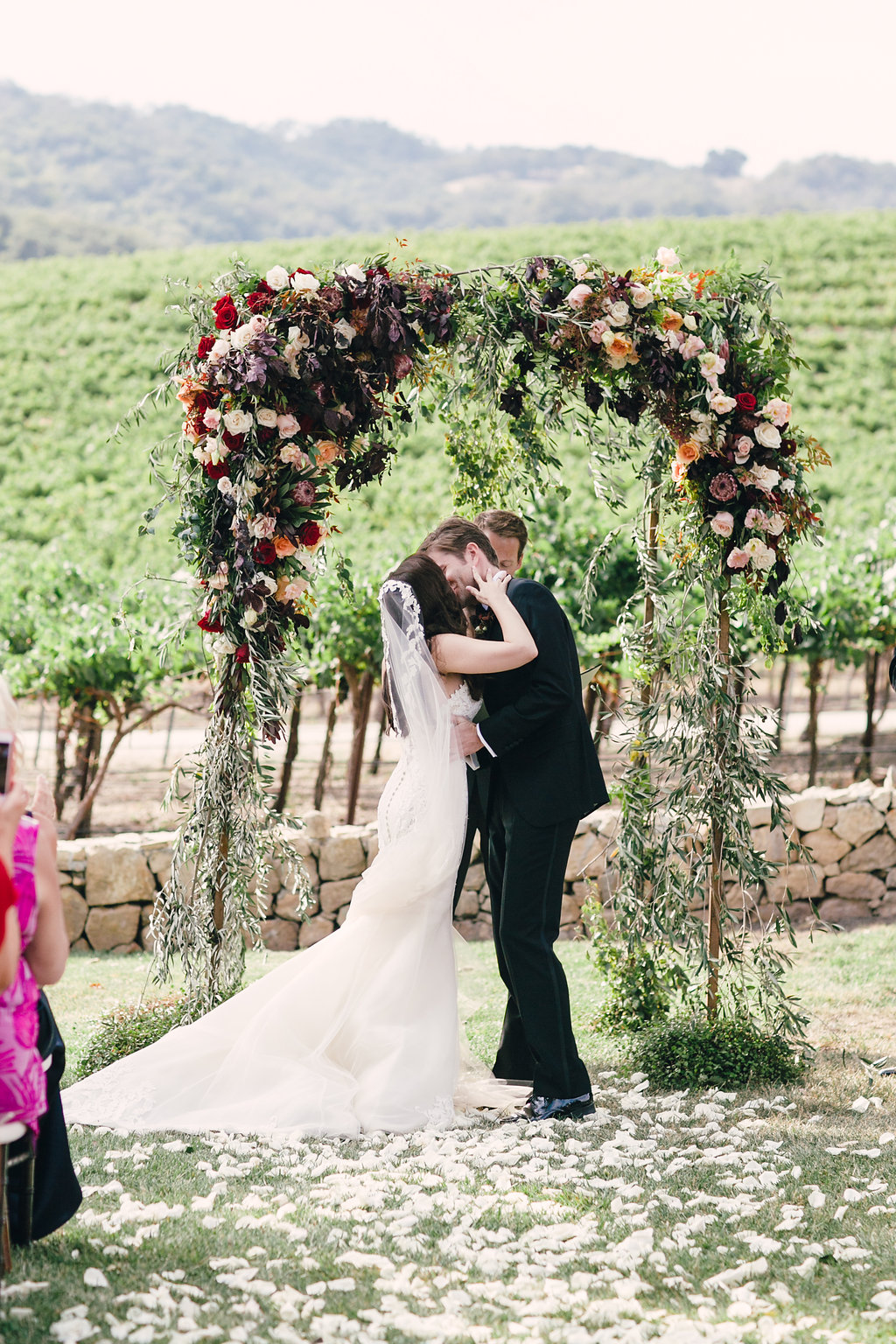 Sneak Peek: M+C's Hammersky Vineyards Wedding in Paso Robles, CA