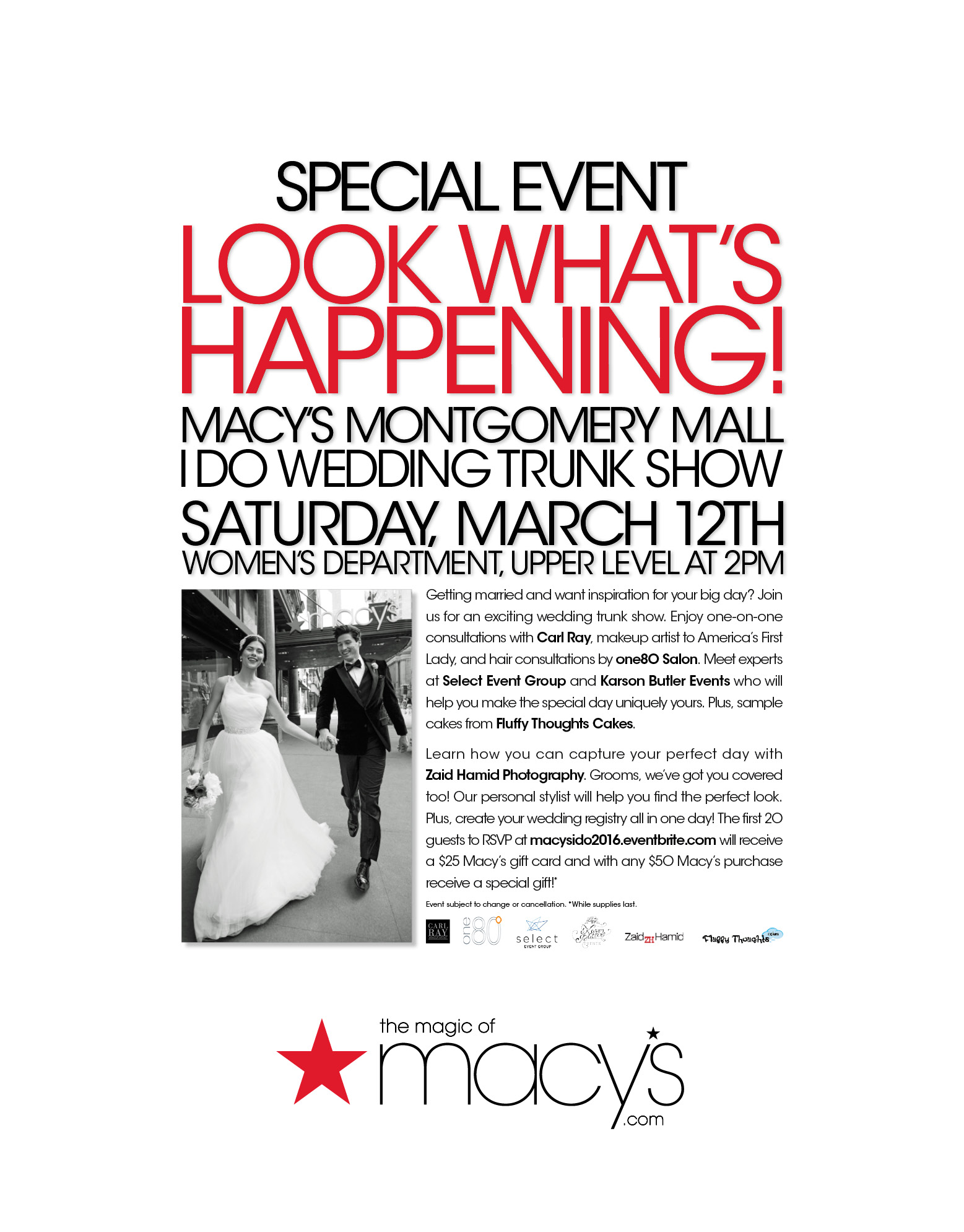 Macy S I Do Wedding Trunk Show Karson Butler Events
