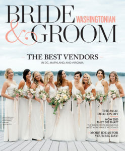 Washingtonian Bride & Groom_Cover_SummerFall 2016