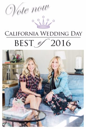 California Wedding Day – Best of 2016 Event Designer Nominee