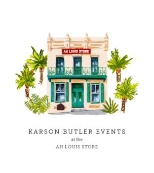 Karson Butler Events at the Ah Louis Store – Opening 11/26!