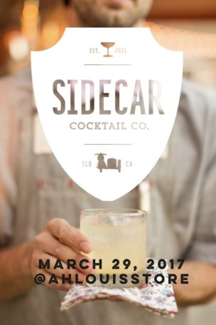 Spring Cocktail Class at the Ah Louis Store – March 29th