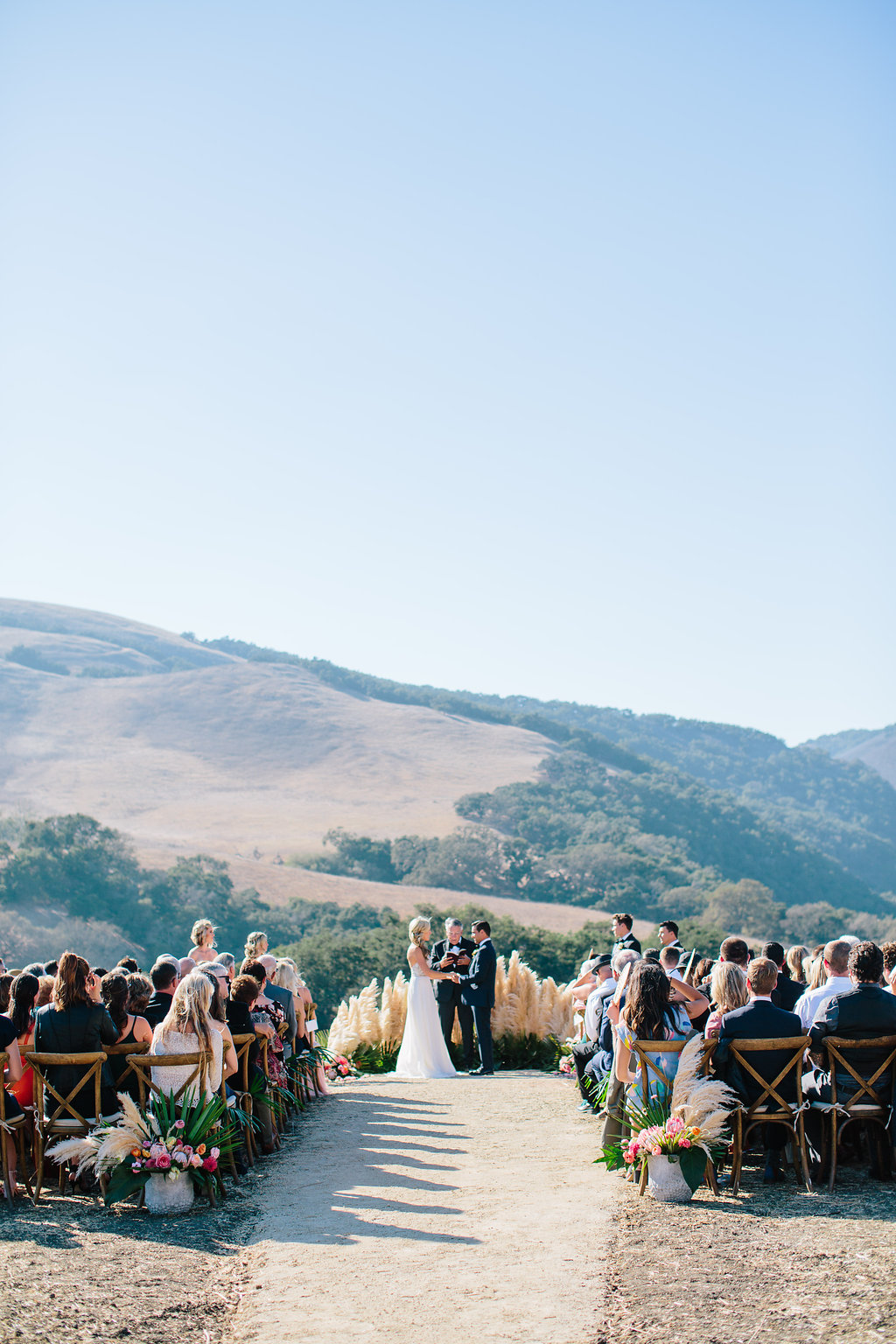 Martha Stewart Weddings: Boho California Wedding with a Tropical Twist