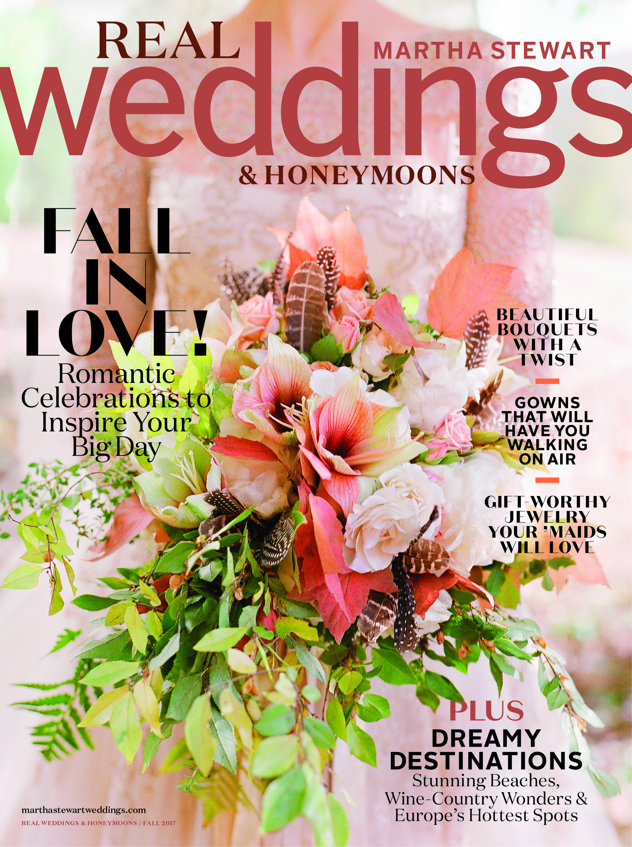 Martha Stewart Weddings: Love Blooms