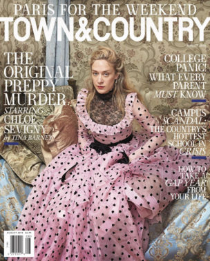 On Newstands Nationwide! Hearst Wedding Featured in Town & Country Magazine!