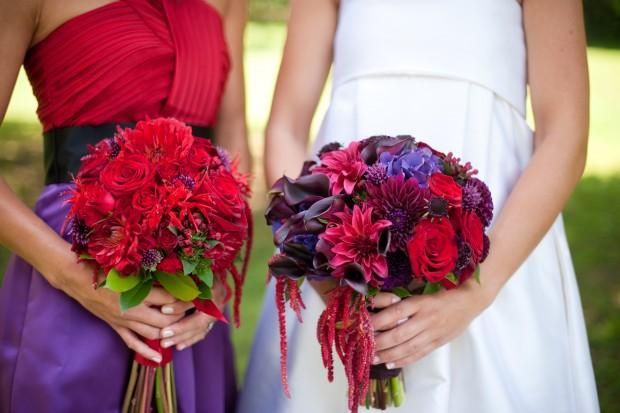Wedding Aces: Fall Color Palette – Red & Purple